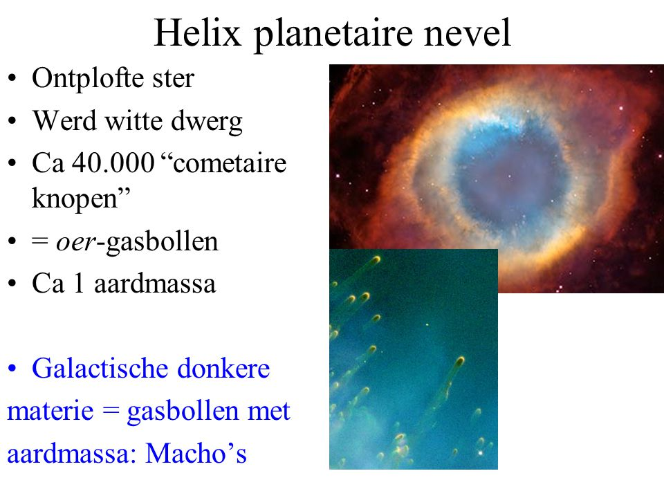 Helix planetaire nevel