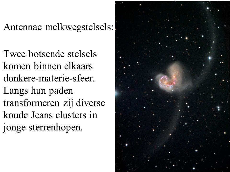 Antennae melkwegstelsels: