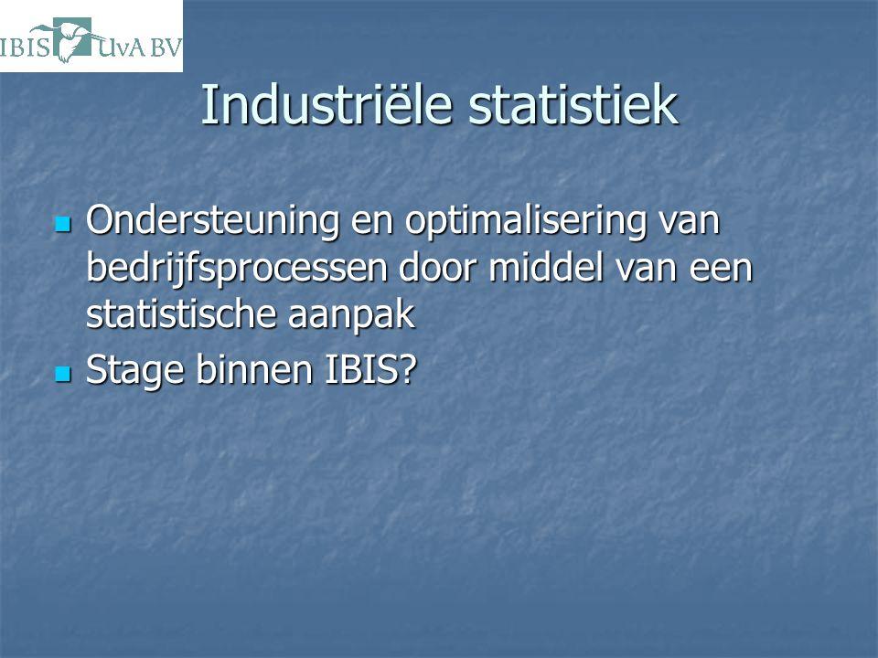 Industriële statistiek