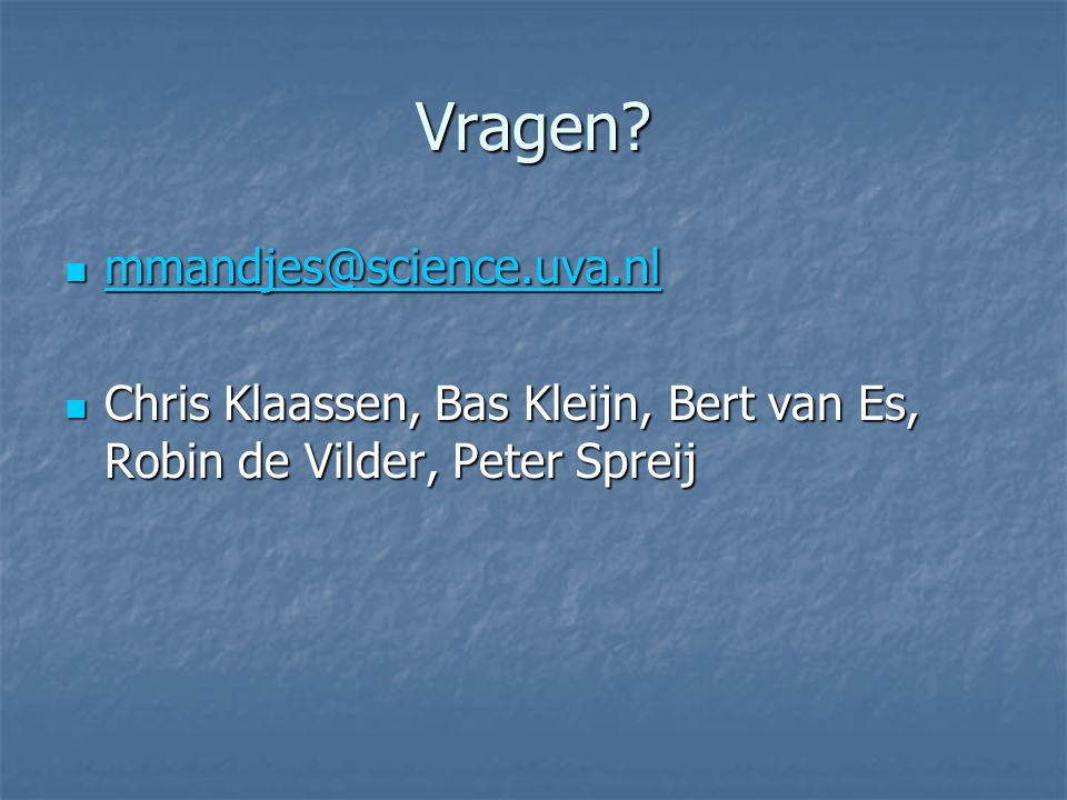 Vragen mmandjes@science.uva.nl