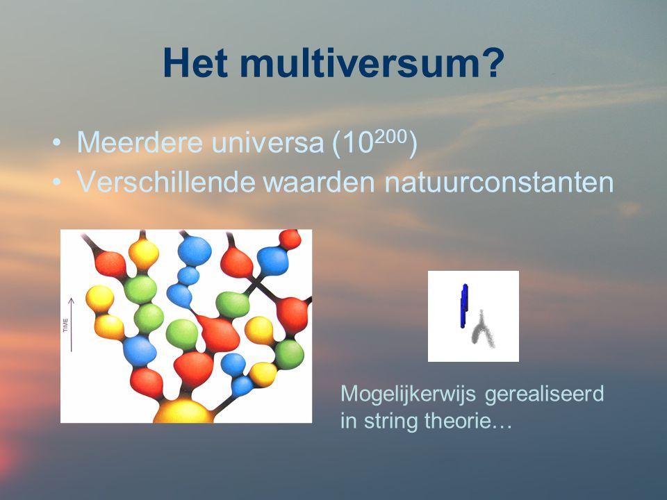Het multiversum Meerdere universa (10200)