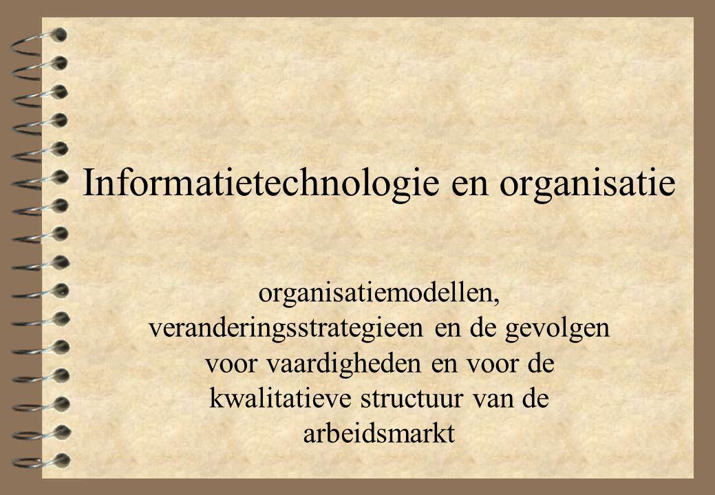 Informatietechnologie en organisatie