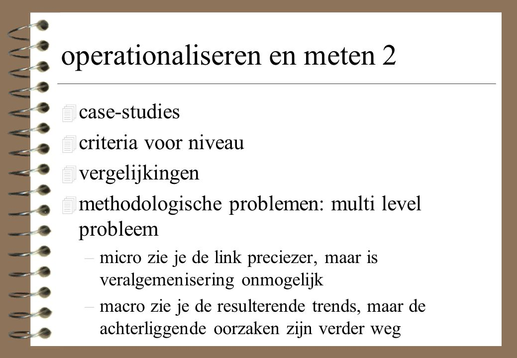 operationaliseren en meten 2