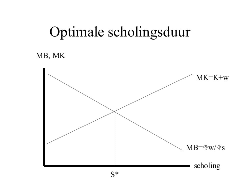 Optimale scholingsduur