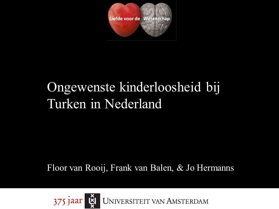 Ongewenste kinderloosheid bij Turken in Nederland