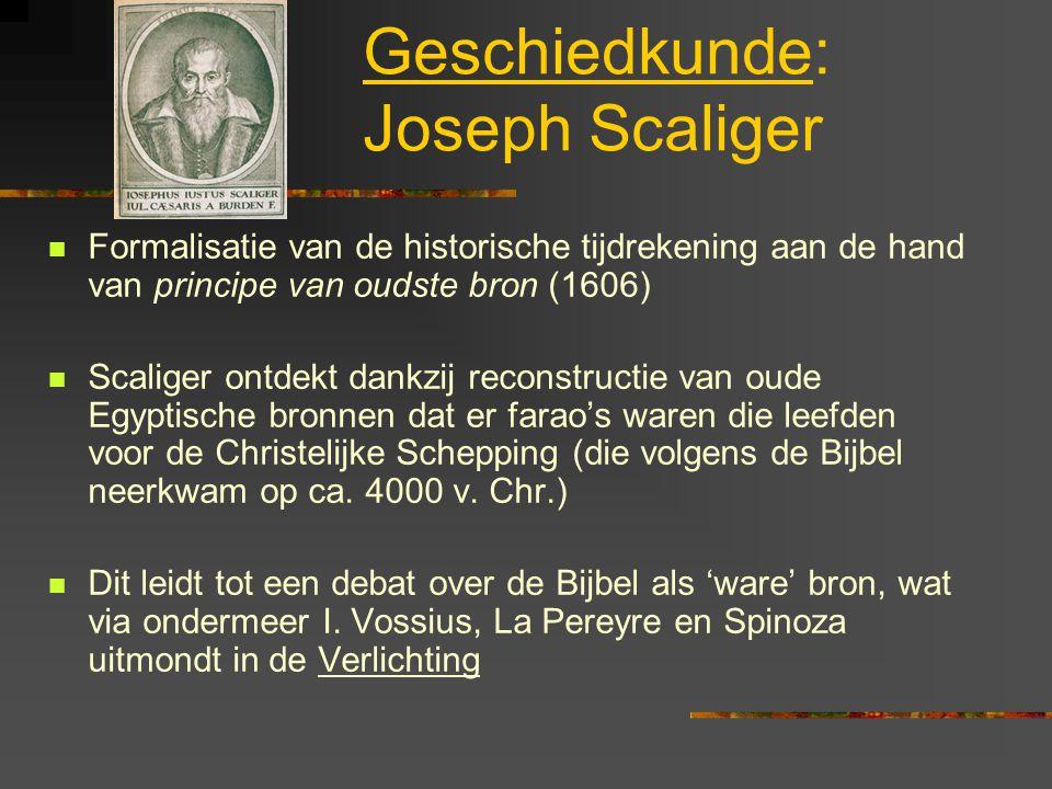 Geschiedkunde: Joseph Scaliger