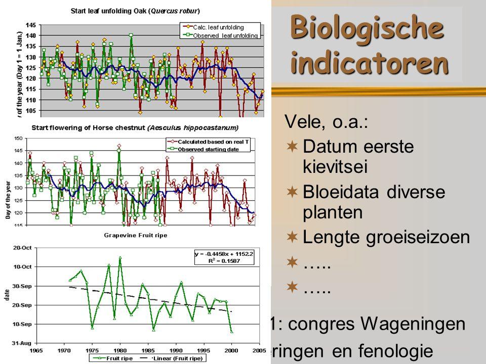 Biologische indicatoren
