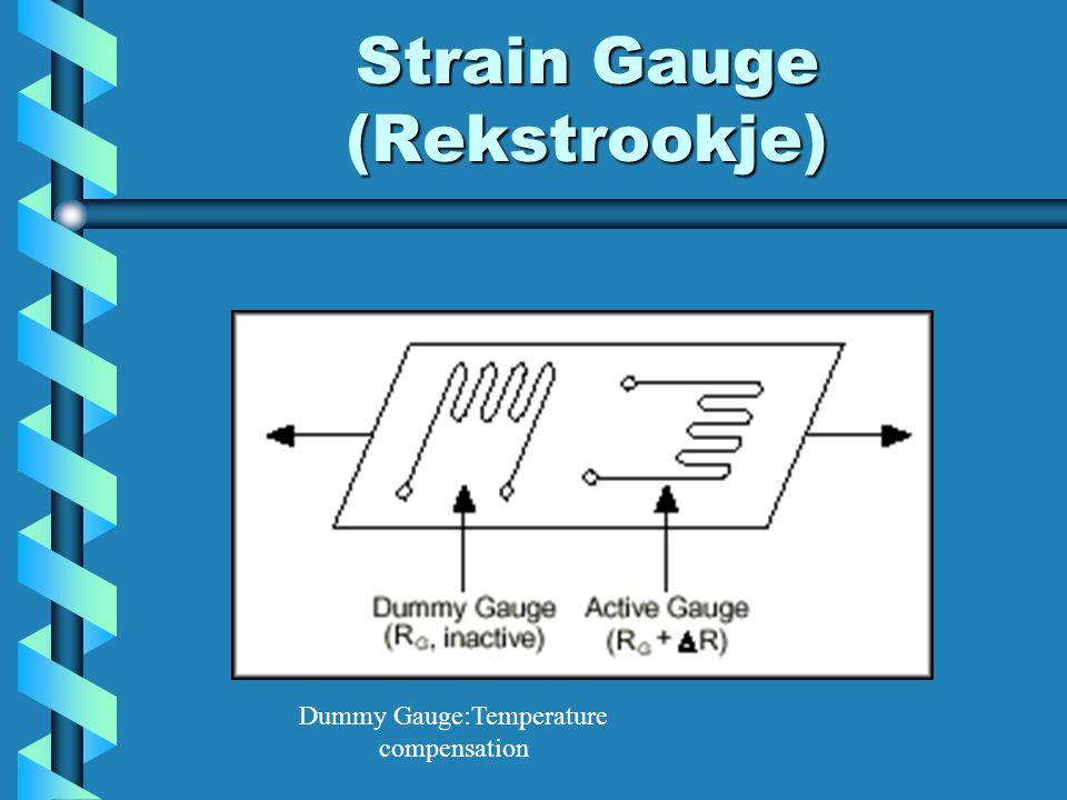 Strain Gauge (Rekstrookje)