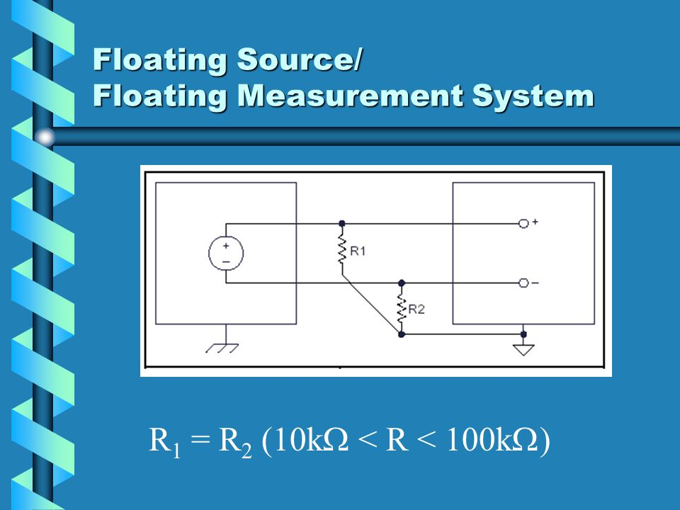 Floating Source/ Floating Measurement System