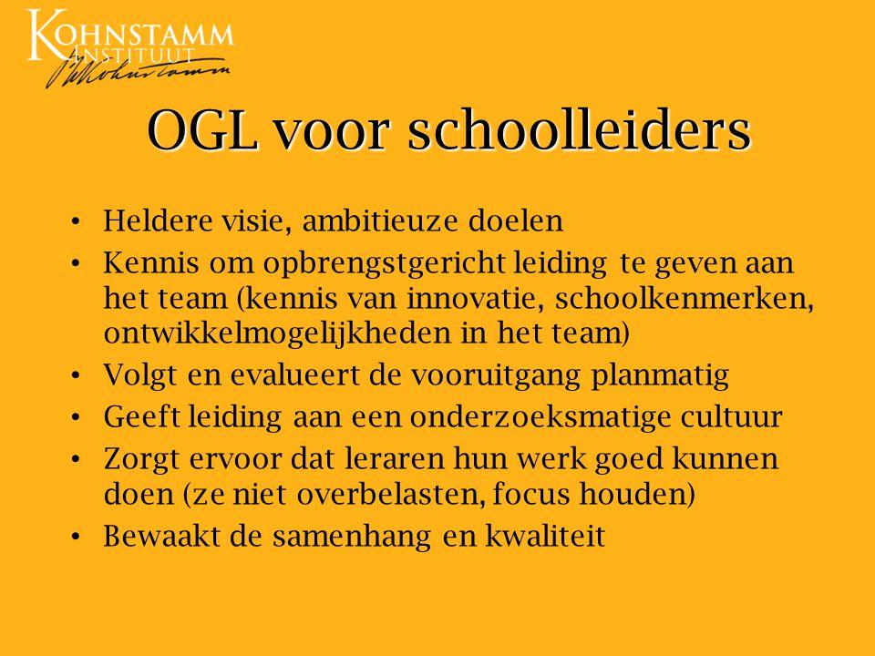 OGL voor schoolleiders
