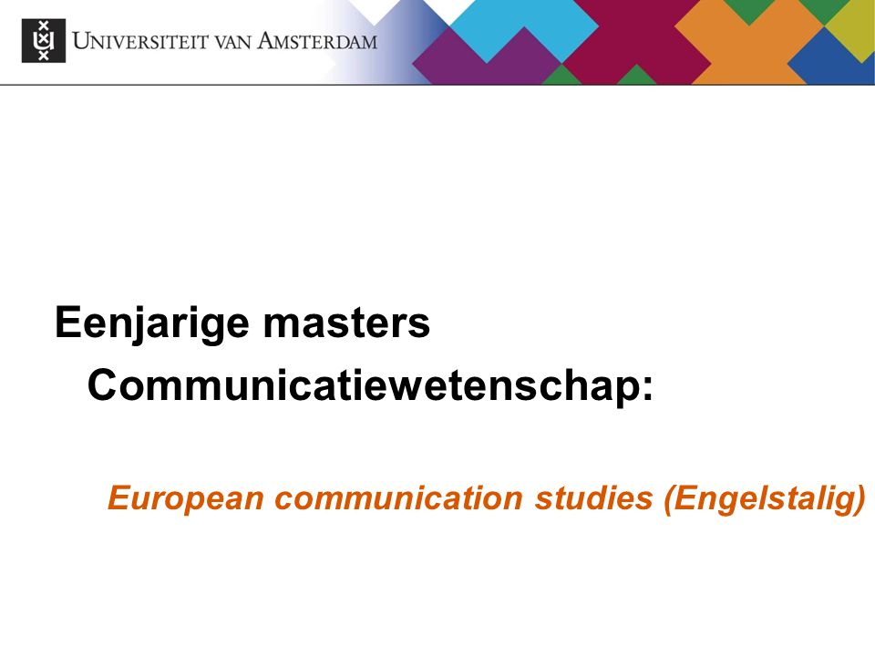 Communicatiewetenschap: