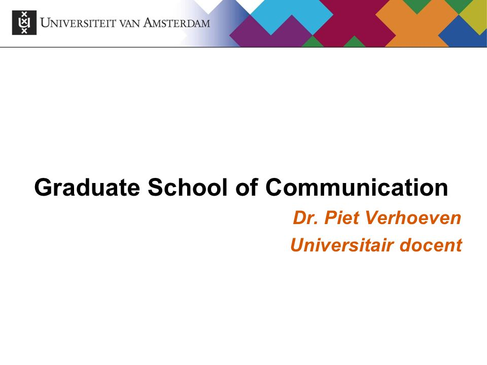 Graduate School of Communication