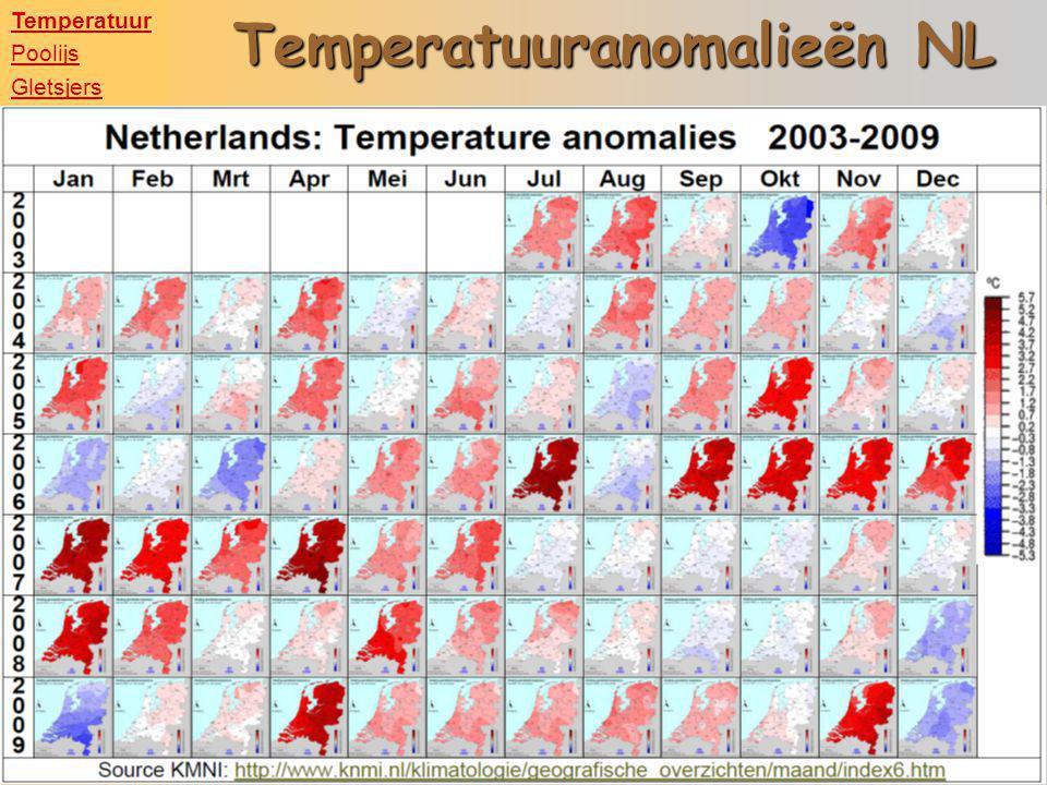 Temperatuuranomalieën NL