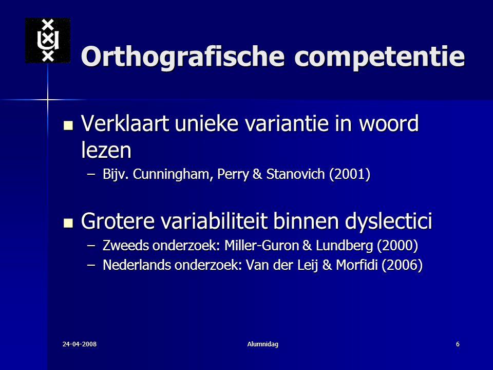 Orthografische competentie