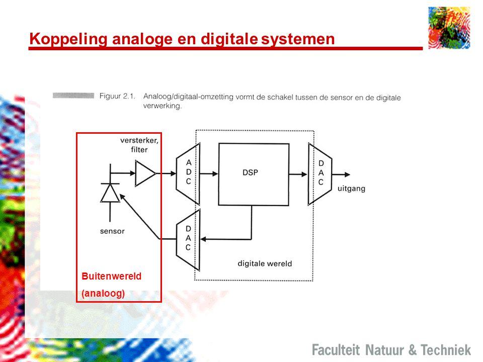 Koppeling analoge en digitale systemen