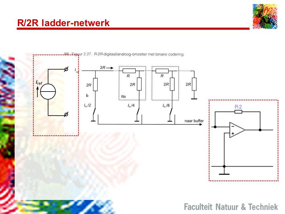R/2R ladder-netwerk Iref b