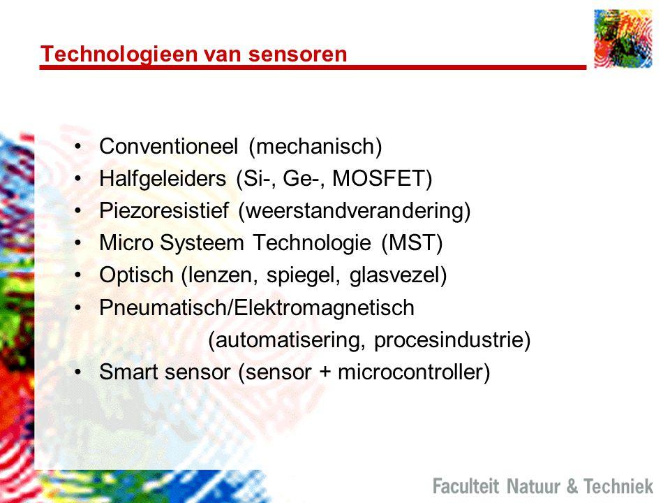 Technologieen van sensoren