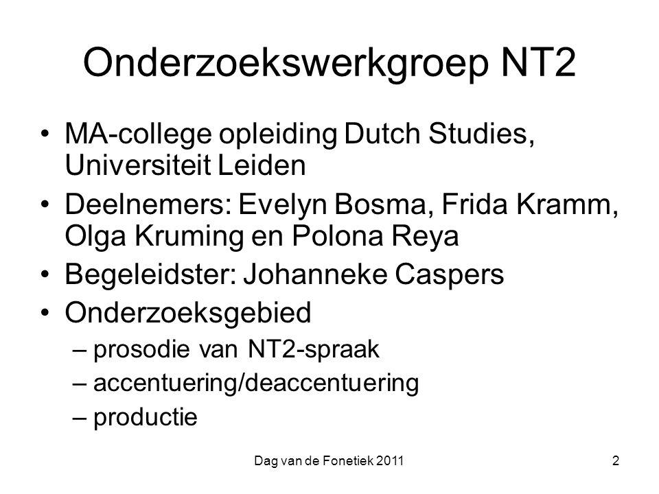 Onderzoekswerkgroep NT2