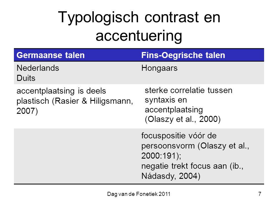 Typologisch contrast en accentuering