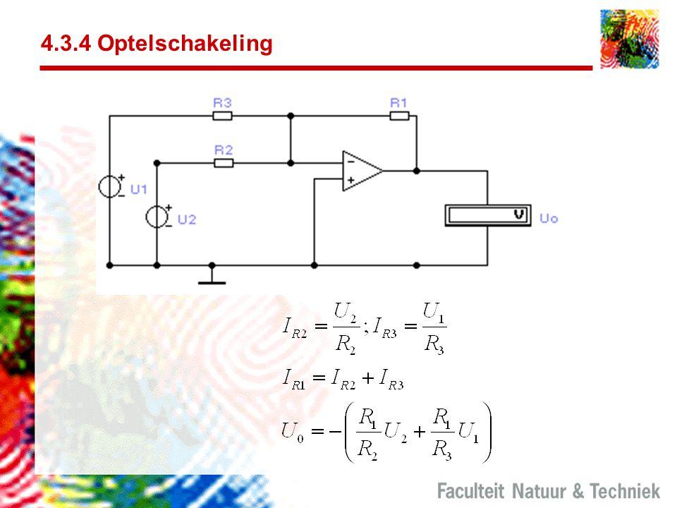 4.3.4 Optelschakeling