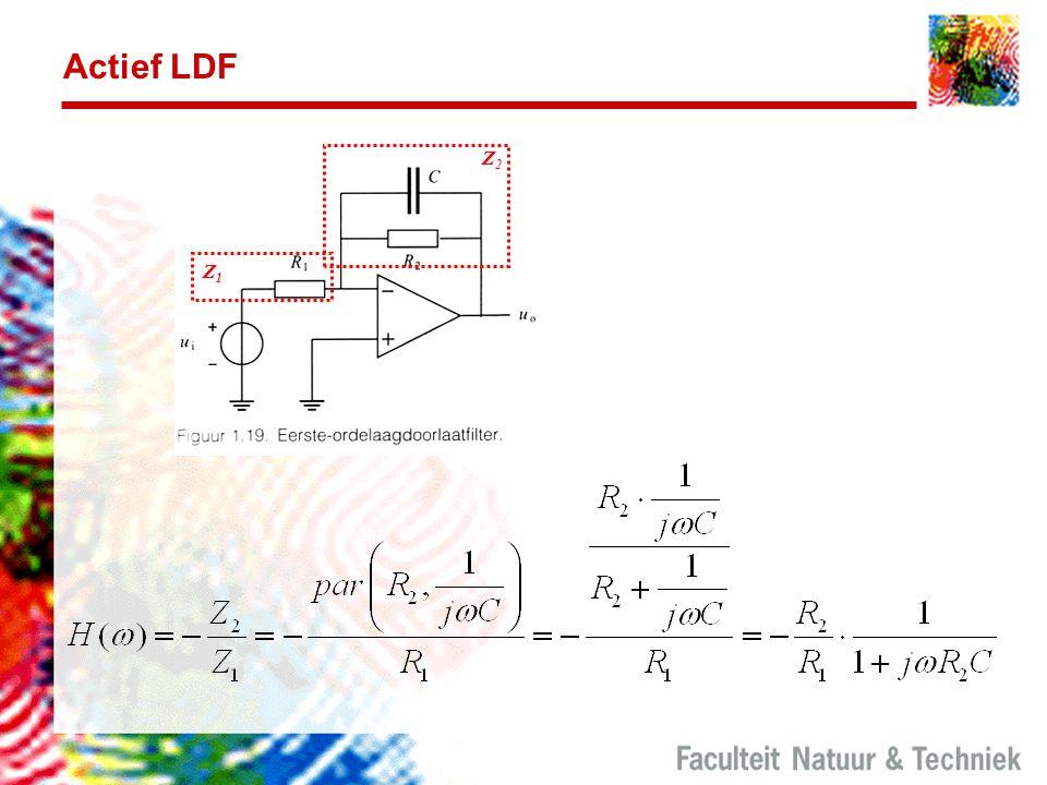 Actief LDF Z2. Z1.