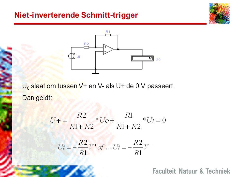 Niet-inverterende Schmitt-trigger