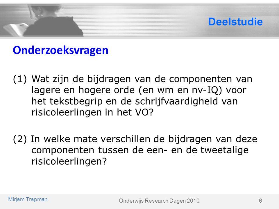 Onderwijs Research Dagen 2010