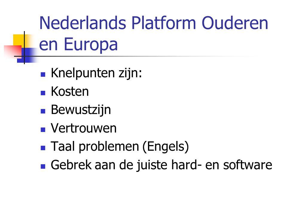 Nederlands Platform Ouderen en Europa