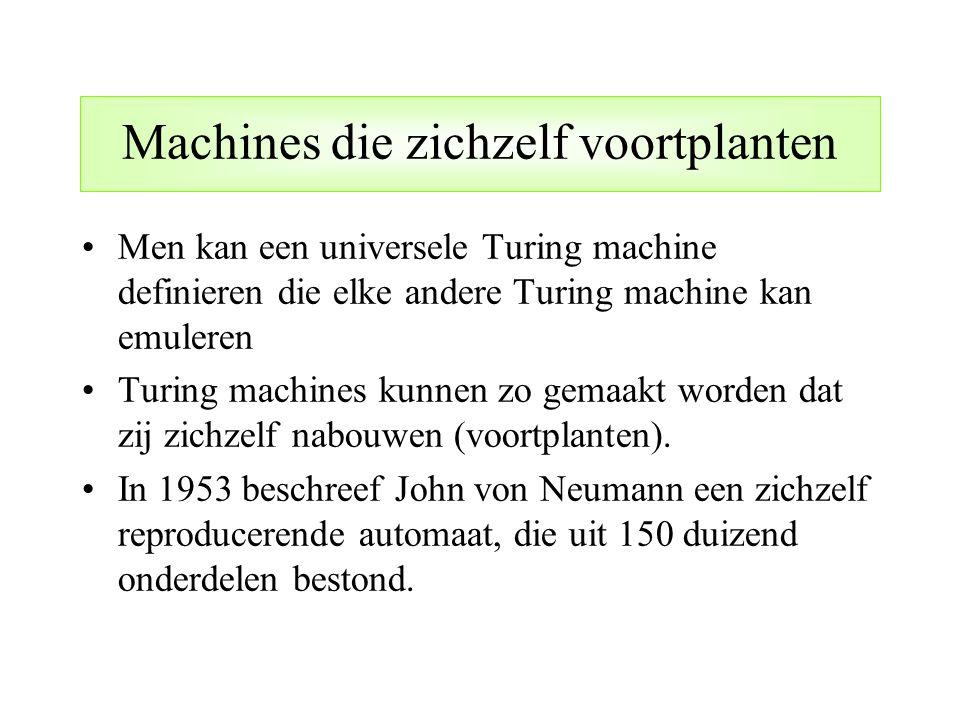 Machines die zichzelf voortplanten