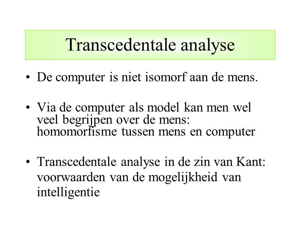 Transcedentale analyse
