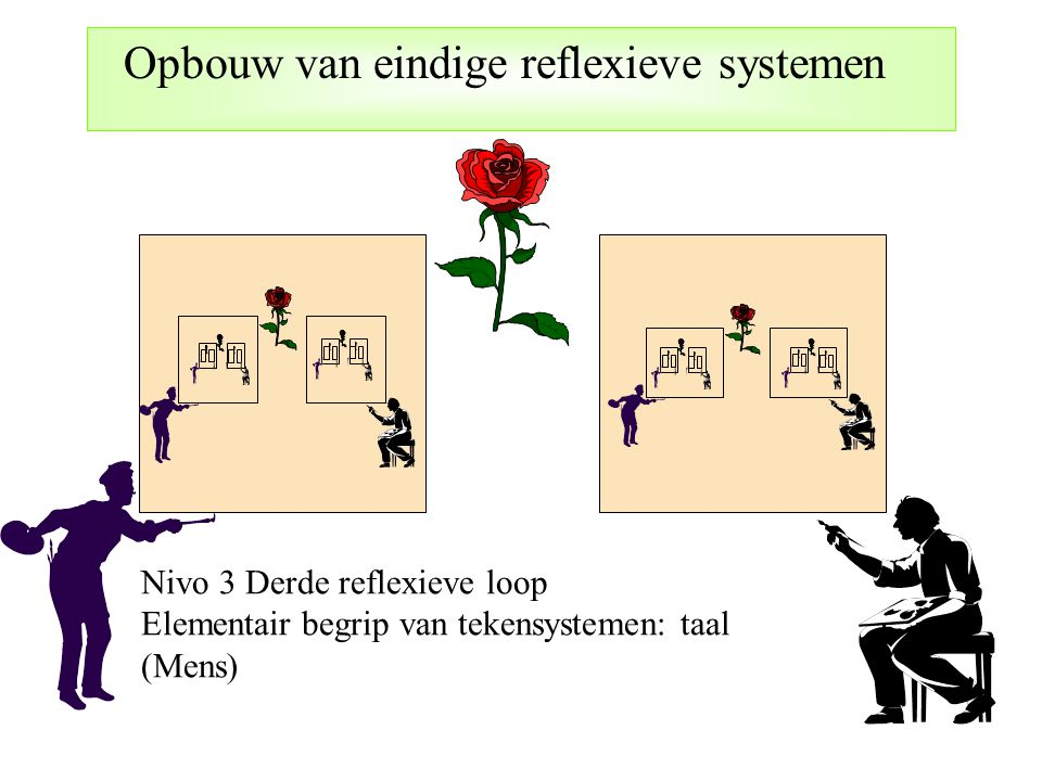 Opbouw van eindige reflexieve systemen