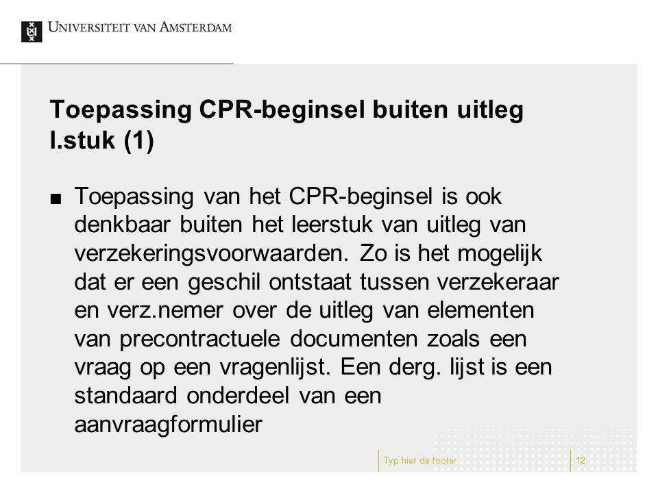 Toepassing CPR-beginsel buiten uitleg l.stuk (1)