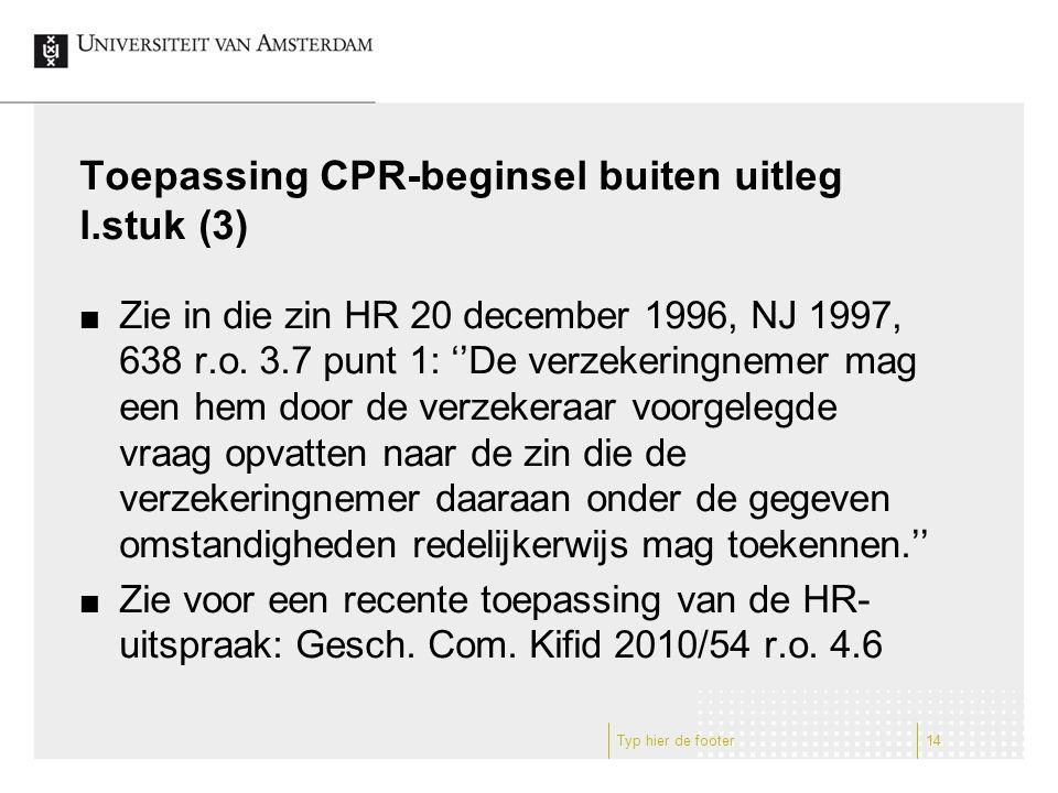 Toepassing CPR-beginsel buiten uitleg l.stuk (3)