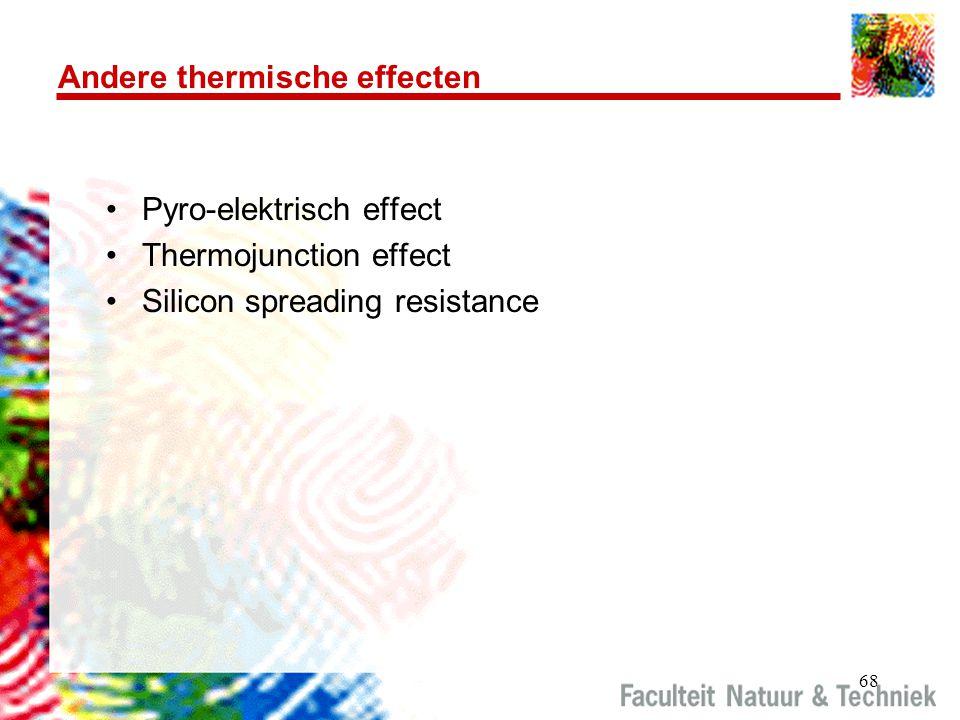 Andere thermische effecten
