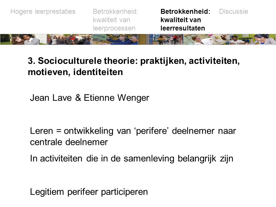 Jean Lave & Etienne Wenger