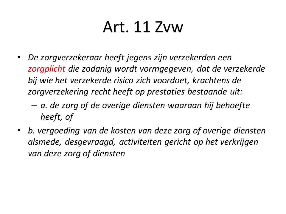 Art. 11 Zvw