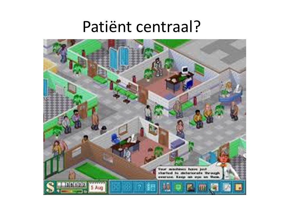 Patiënt centraal