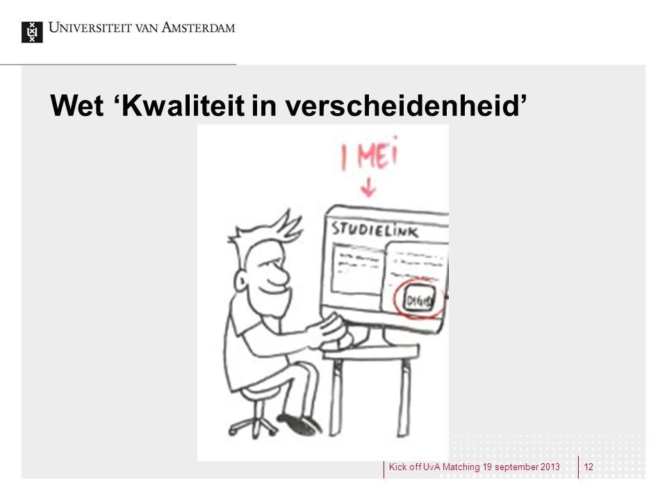 Wet 'Kwaliteit in verscheidenheid'