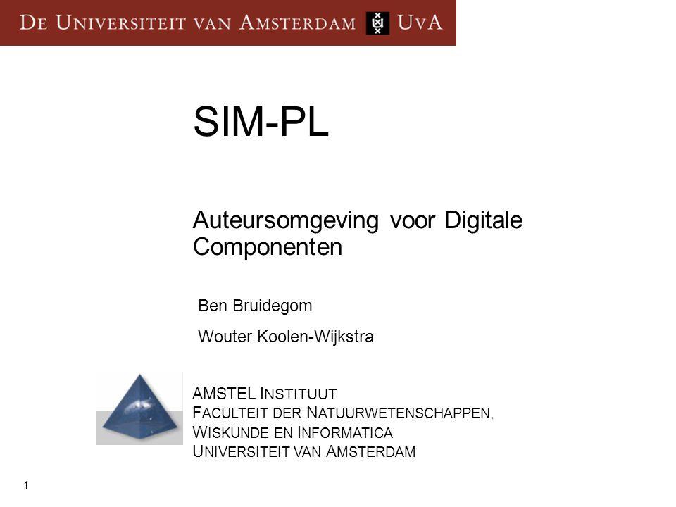 Auteursomgeving voor Digitale Componenten