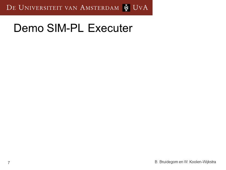 Demo SIM-PL Executer