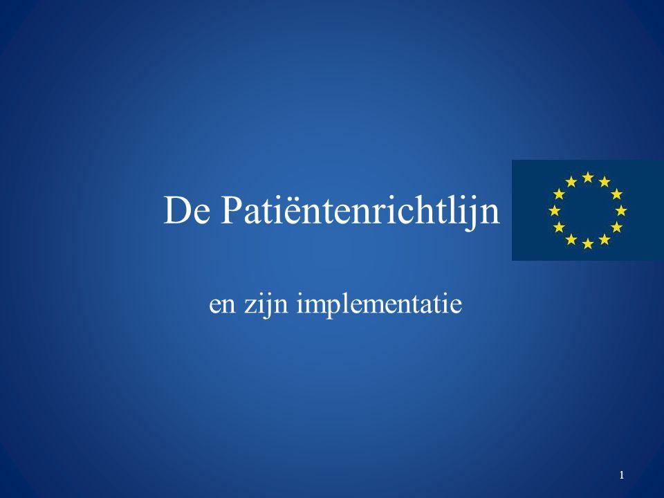 De Patiëntenrichtlijn