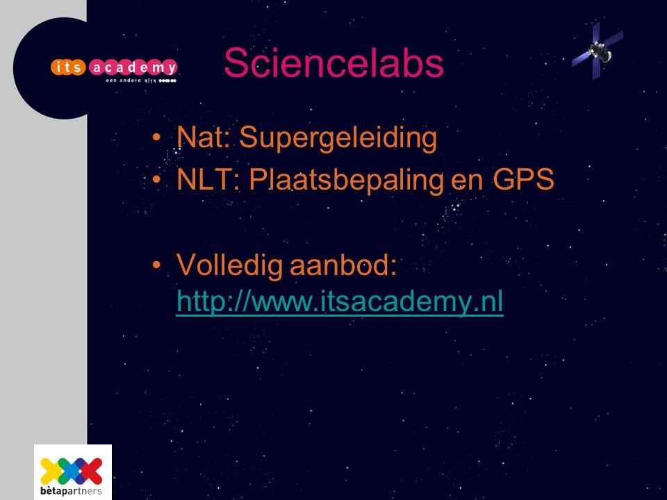 Sciencelabs Nat: Supergeleiding NLT: Plaatsbepaling en GPS