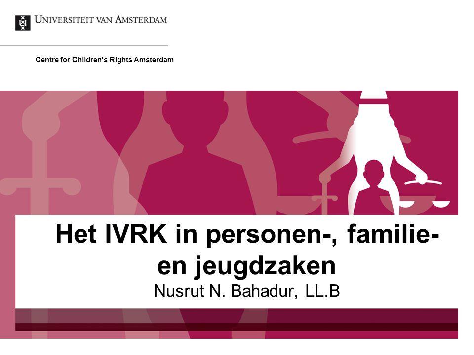 Het IVRK in personen-, familie- en jeugdzaken