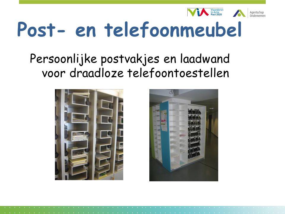 Post- en telefoonmeubel