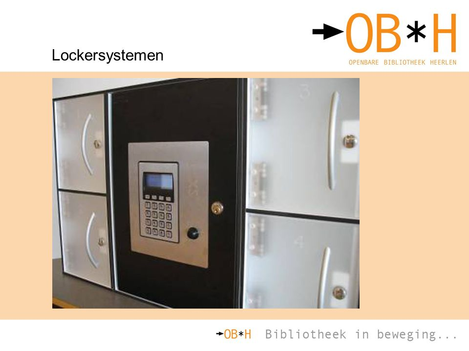 Lockersystemen