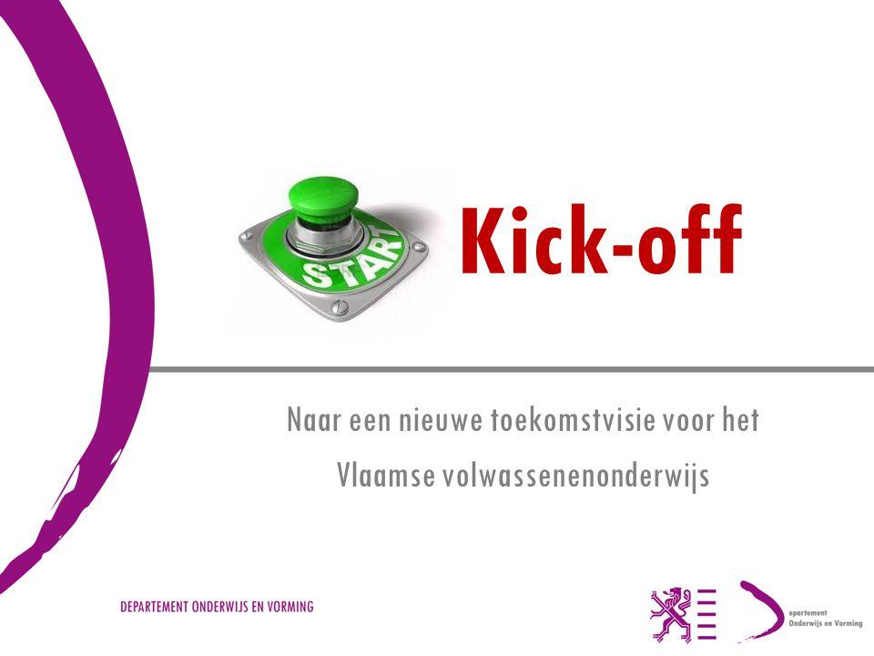 Naar een nieuwe toekomstvisie voor het Vlaamse volwassenenonderwijs