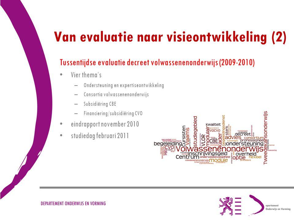 Van evaluatie naar visieontwikkeling (2)