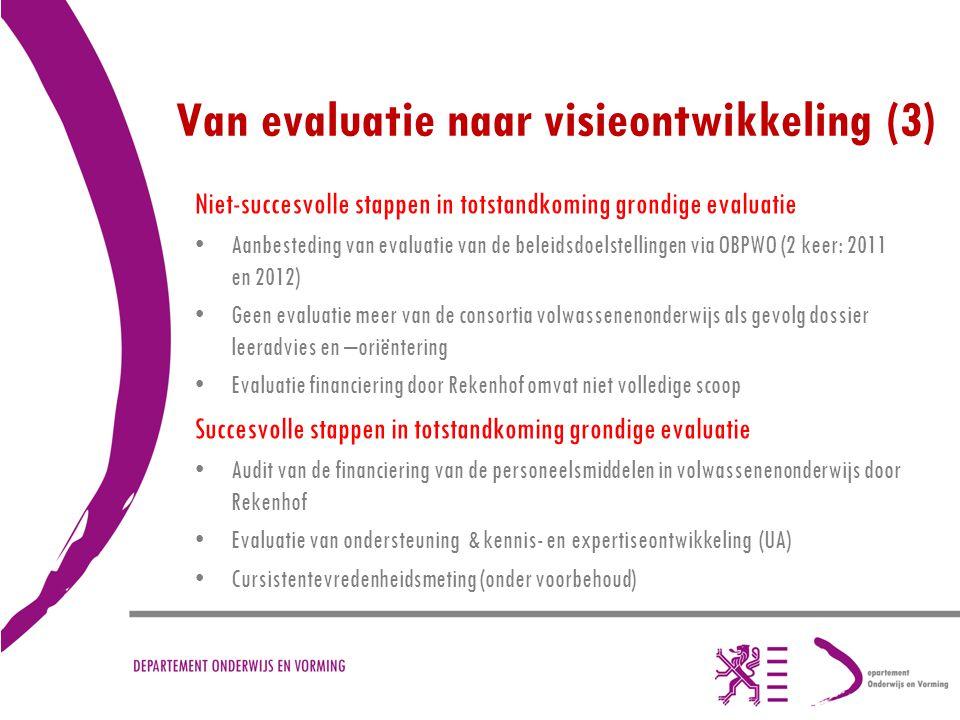 Van evaluatie naar visieontwikkeling (3)