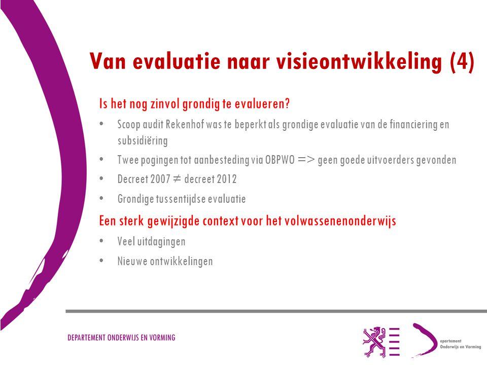 Van evaluatie naar visieontwikkeling (4)