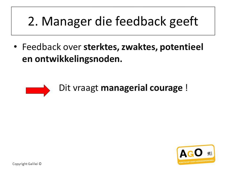 2. Manager die feedback geeft